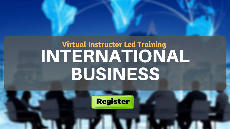 International Business (VILT)