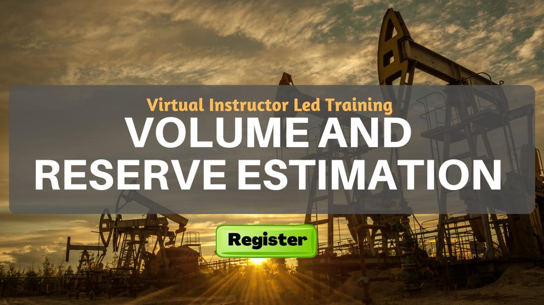 Volume and Reserve Estimation (VILT)